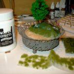 Diorama i prosess - Fe i skogen