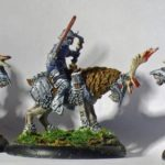 Privateer Press - Hordes - Legion of Everblight - Raptor c, bow and sword
