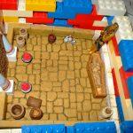 Diorama - egyptisk gravkammer