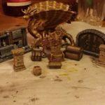 Diorama i prosess - Skattens vokter