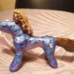 Nytt arbeid: Jeweled horse